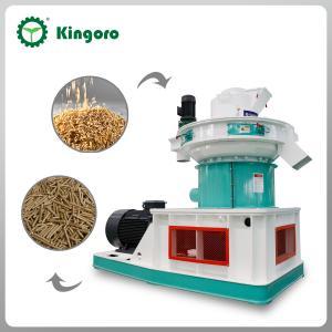 China Ring Die Biomass Wood Pellet Mill on sale