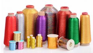 China Polyester Metallic Yarn thread on sale