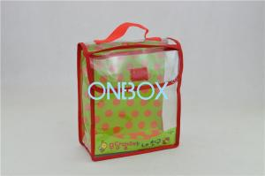 China Book PVC Packaging Bags / Clear PVC Cosmetic Bag Eco Friendly on sale