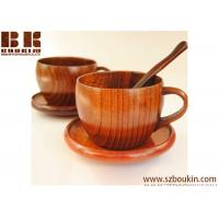 hot selling new designed wooden cup for coffee / wooden milk mug for wholesale