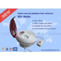 China Pink Color 330 - 1200 nm Wind Cooling System  IPL Hair Removal Machines on sale