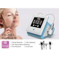 0.5-3mm Adjustable Portable Fractional RF Microneedle Machine For Wrinkle / Stretch Mark Removal