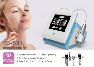 China 0.5-3mm Adjustable Portable Fractional RF Microneedle Machine For Wrinkle / Stretch Mark Removal on sale