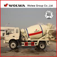 Wolwa new 4 CBM of concrete mixer truck for sale