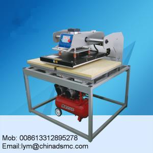 Guangzhou factory moveable heat press machine t shirt
