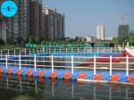 pontón plástico para la plataforma flotante