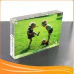 China Highlight crystal acrylic magnetic picture frame wholesale