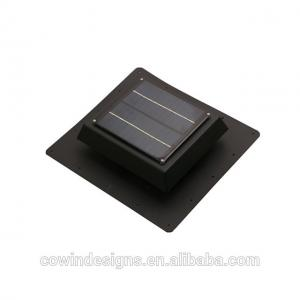 China Low price 5W solar powered attic ventilation fan 400cfm with 6in fan blade on sale