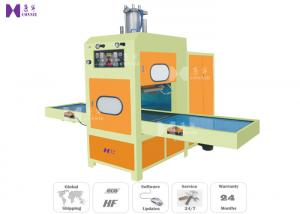 China HF 15KW Welding Cutting Machine For Car Soundproof Cotton / PVC Leather Mat on sale