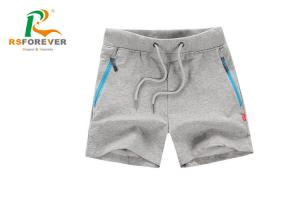 China Breathable Zipper Pocket Men Board Shorts with Custom Logo / Plain Sports Shorts on sale