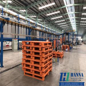 China Automatic Chassis Manual Shell Electrostatic Powder Spray Coating Production Line on sale