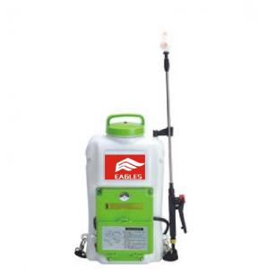 China 16L Knapsack Electric Fogging Machine Air Pressure Sprayer 0.15-0.5Mpa Pressure on sale