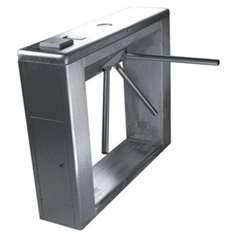 China Full-auto RS485 interface security turnstile gate with barcode, ID control for station on sale