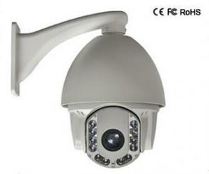China High speed dome camera,30X Optical zoom Analog Zoom PTZ cameras cctv 700TVL 6 IR camera on sale