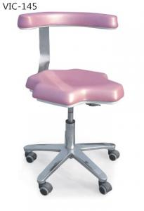 China Pink VIC-145 Dental dentist chair /dental supply /doctor stool on sale
