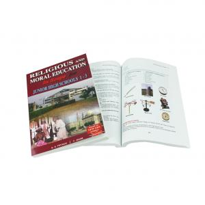 China Eco Friendly Perfect Binding Softcover Paperback Book Printing on sale