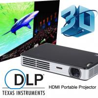 Best Seller HD 2D To 3D Convert DLP Mini Video Projector With HDMI Support 1080p