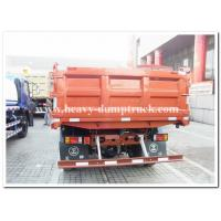 China 4X2  CNTCN mini 10 tons dump truck / Tipper truck and 4X4 for optional  red color on sale
