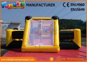 China Waterproof PVC Tarpaulin Inflatable Sports Games / Inflatable Soap Soccer Field on sale