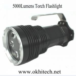 China LED Torch Flashlight portable 5000Lumens on sale