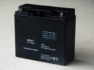 China Sealed Maintenance Free Lead Acid SLA backup Battery for power plant UPS (12v 17ah FM) on sale