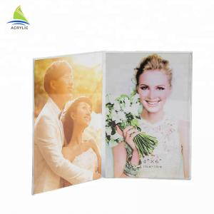 China New Style acrylic block picture frames  Hot Double Sided Acrylic Mount funny photo frame on sale