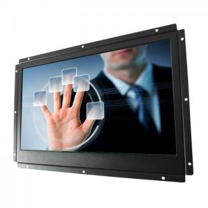 China Flat Pro Capacitive Open Frame Touch Monitor For Industrial , 50000 Hours Lifetime on sale