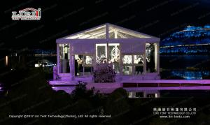 China Transparent 10 x 15 meter  outdoor party tent  for outdoor temporary Wedding on sale