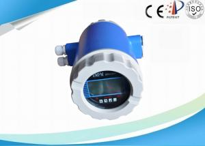 China Full Bore Electromagnetic Flow Meter , Intelligent Wastewater Flow Meter on sale
