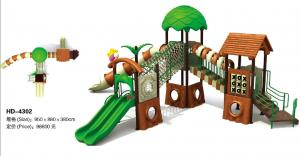 China Hot sell Tree House Series Children Playground Equipment Plastic Children Playground Equipment on sale