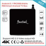 China Beelink R68 Android Smart TV Box RK3368 64Bits Octa Core Media Player wholesale