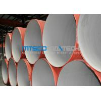 ASTM A312 Welded Pipe Plain Ends , Stainless Steel Thin Wall Pipe With RT