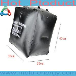 China Solar shower bag on sale