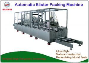 China Touch Screen HMI Automatic Blister Packing Machine Labelling / Coding For Pen And Pencil on sale