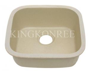 China Acrylic Solid Surface Corian Single Kitchen Sink on sale