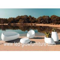 China Environment friendly glowing illuminated outdoor furniture lights , led couch / chair on sale