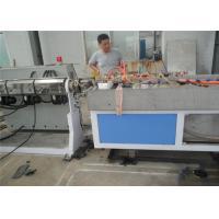 Single Screw PP PE Plastic Profile Production Line , Plastic Sheet Extrusion Line