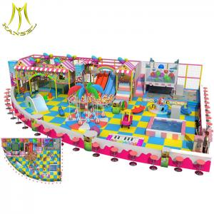 China Hansel  indoor playing games for kids  naughty castle kids fun indoor soft play area on sale
