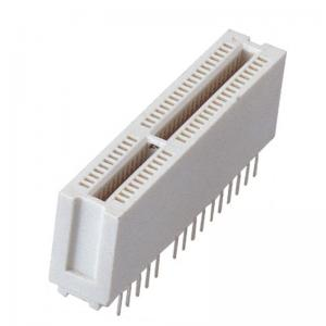 China 1.27 Mm Pin Header Straight  1.27mm Connector PCI Slot PA66 White in motherboard on sale