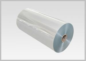 China PLA Bio Based Clear Shrink Film Biodegradable Bioplastic Film To Flexible Packaging on sale