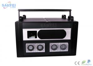 China RGB Full Color Animation Laser Light 4 Control Modes Narrow Beam Angle on sale