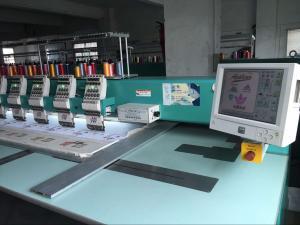 China Advanced Tajima Embroidery Machine , 12 Needle Embroidery Machine With LCD Display on sale