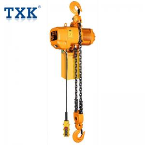 China F Grade Electric Chain Hoist Hook / Trolley Type Inverter Control Double / Single Speed on sale