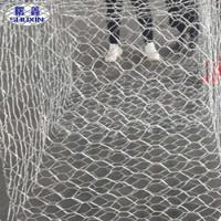 Precision Gabion Wall Cages Woven Galvanized Gabion Basket Size With Rock Filled