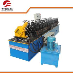 China Customized C Profile Metal Stud And Track Roll Forming Machine 10-12MPa Hydraulic Pressure on sale