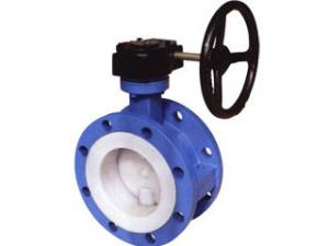 China 900lb 72 inch Off-Set Flanged Butterfly Valve For Gas , FIRE PROOF on sale