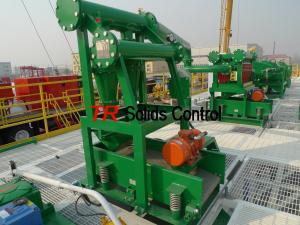 China Desander Hydrocyclone Desander Drilling Fluid Desander Solid Control Equipments on sale