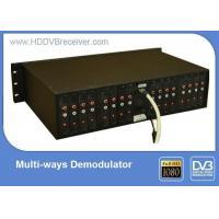 China 16 Ways HD Video Encoder / CATV Digital TV Modulator For Hotel / Restaurant on sale