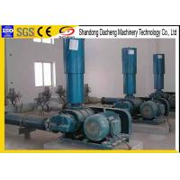 Cement Plant Industrial Roots Blower , Small Volume Roots Type Blower