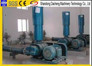 China Belt Driven Positive Pressure Blower , Customized Capacity Fish Pond Air Blower on sale
